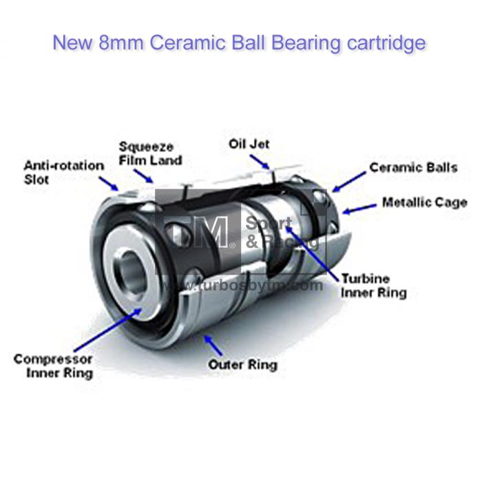 Ball Bearing Cartridge For Garrett Precision Hks Turbos: TM Sport & Racing